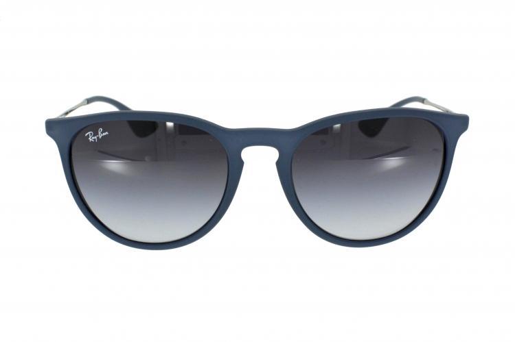 Ray-Ban Sonnenbrille Erika RB 4171 60028G in der Farbe rubber blue / blau gummiert 1l2rA2R3