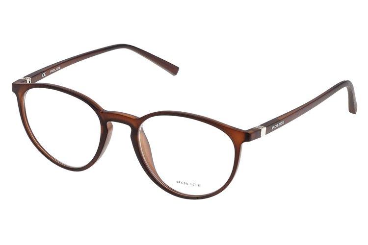 Police Damen Brille »PERCEPTION 2 V1973«, braun, 90YM - braun