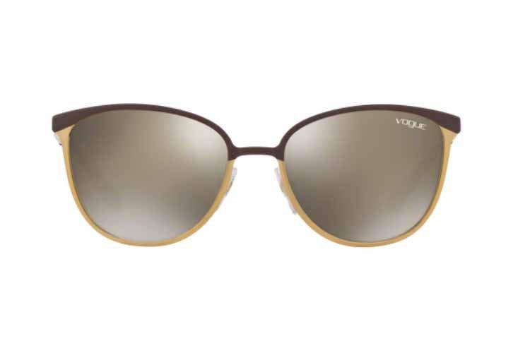 VOGUE Vogue Damen Sonnenbrille » VO4002S«, braun, 50215A - braun/gold