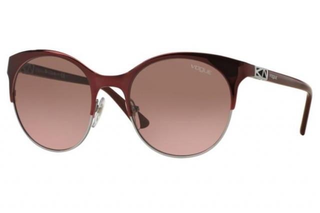 VOGUE Vogue Damen Sonnenbrille » VO4006S«, rot, 812/14 - rot/ braun